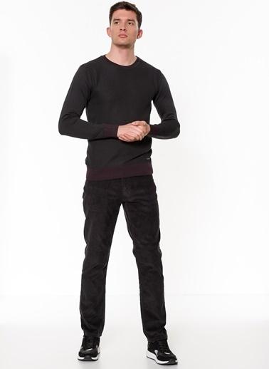 Lee Cooper Kadife Pantolon Antrasit